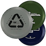 9.5 inch Recycled Flying Discs